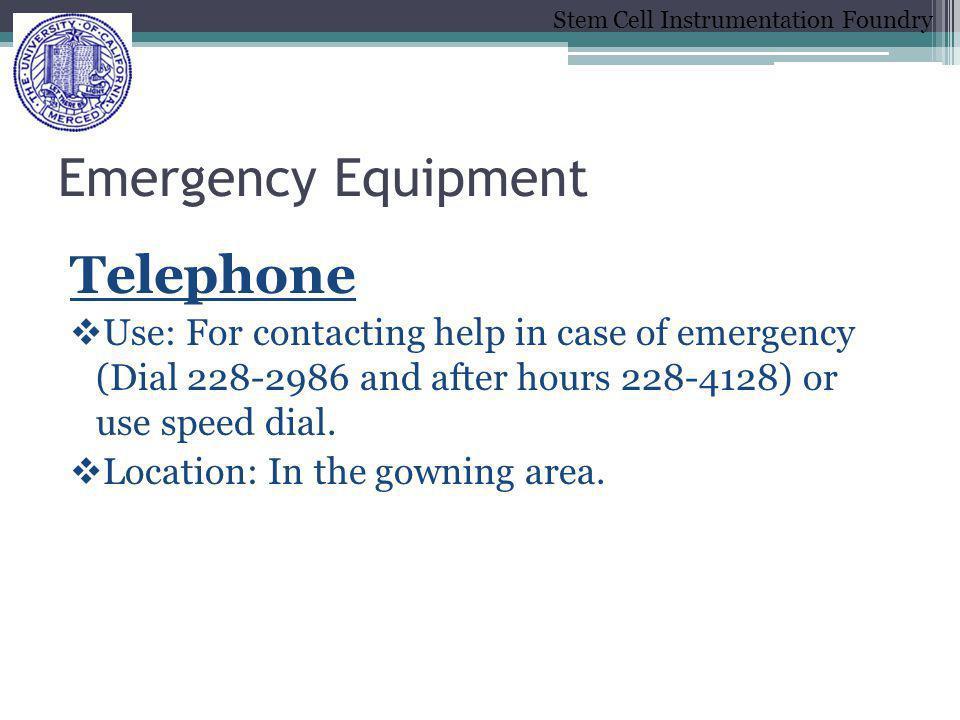 Emergency Equipment Telephone