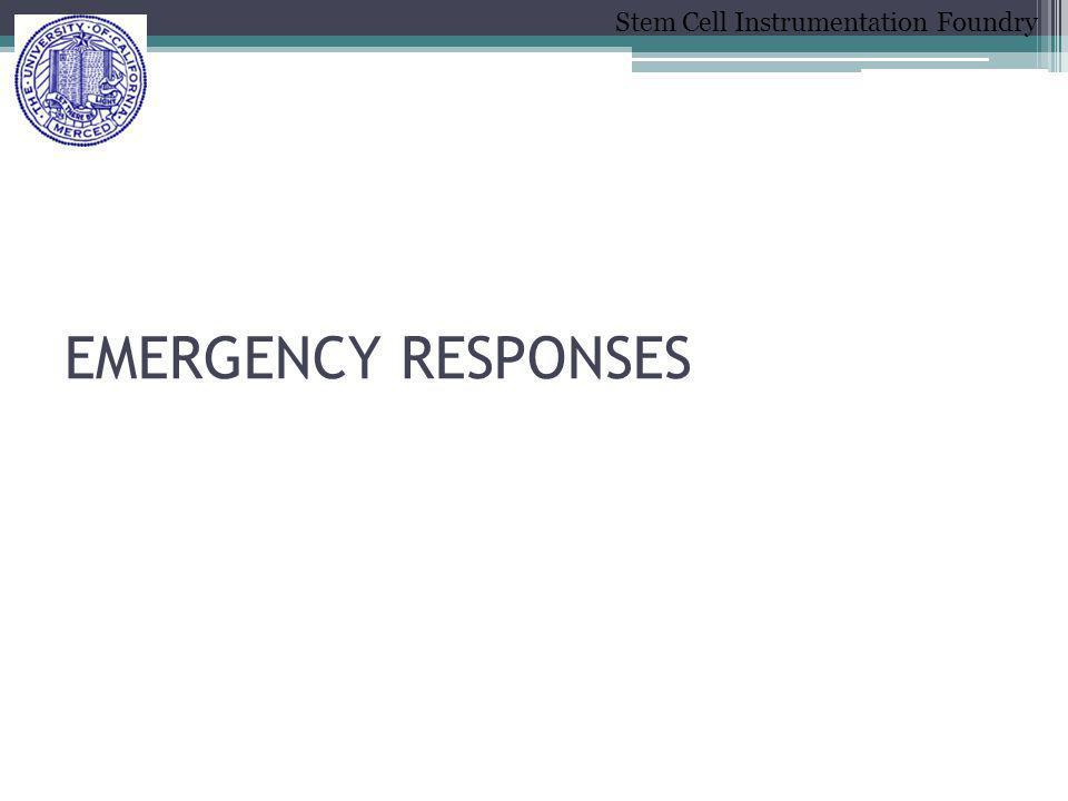 EMERGENCY RESPONSES
