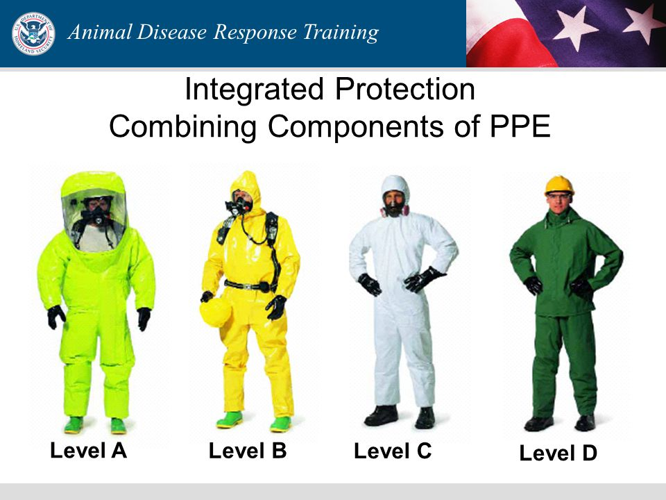 Personal Protective Equipment Level C