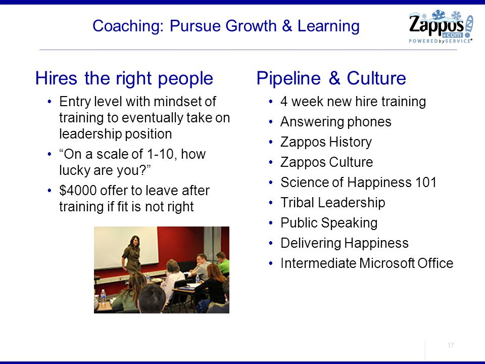 Coaching: Pursue Growth & Learning