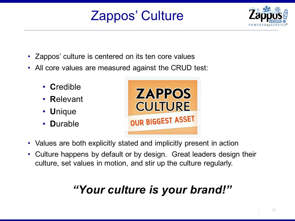Your culture is your brand!