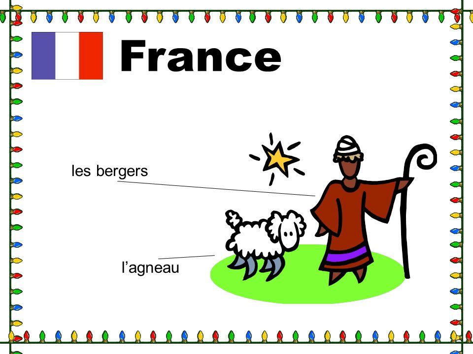 France les bergers l'agneau