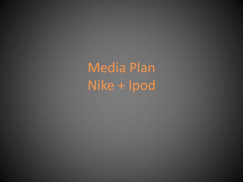Media Plan Nike + Ipod