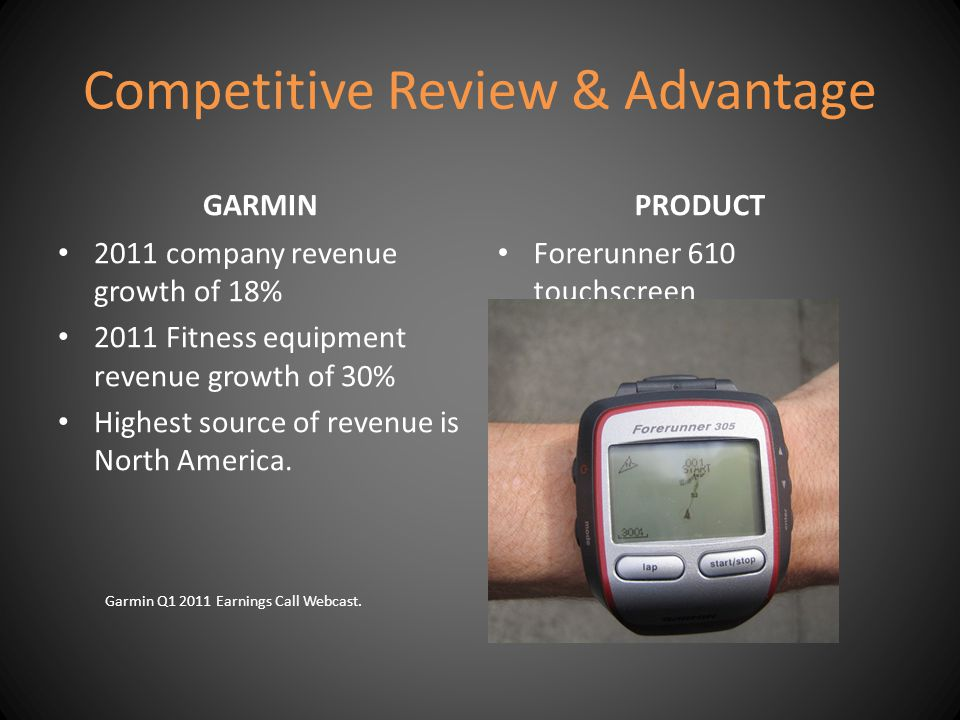 Competitive Review & Advantage