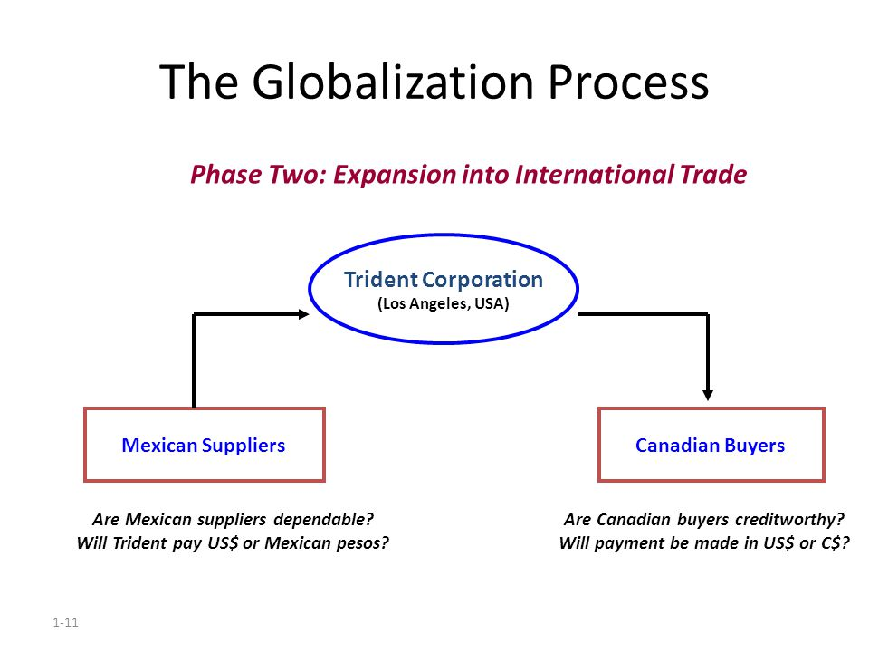 The Globalization Process