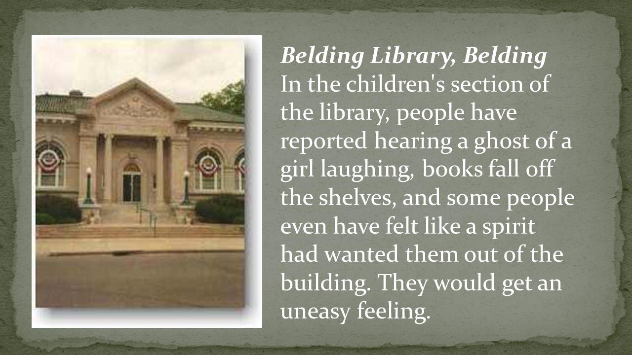 Belding Library, Belding