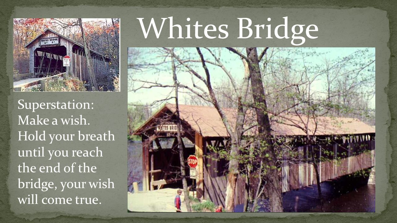 Whites Bridge Superstation: Make a wish.