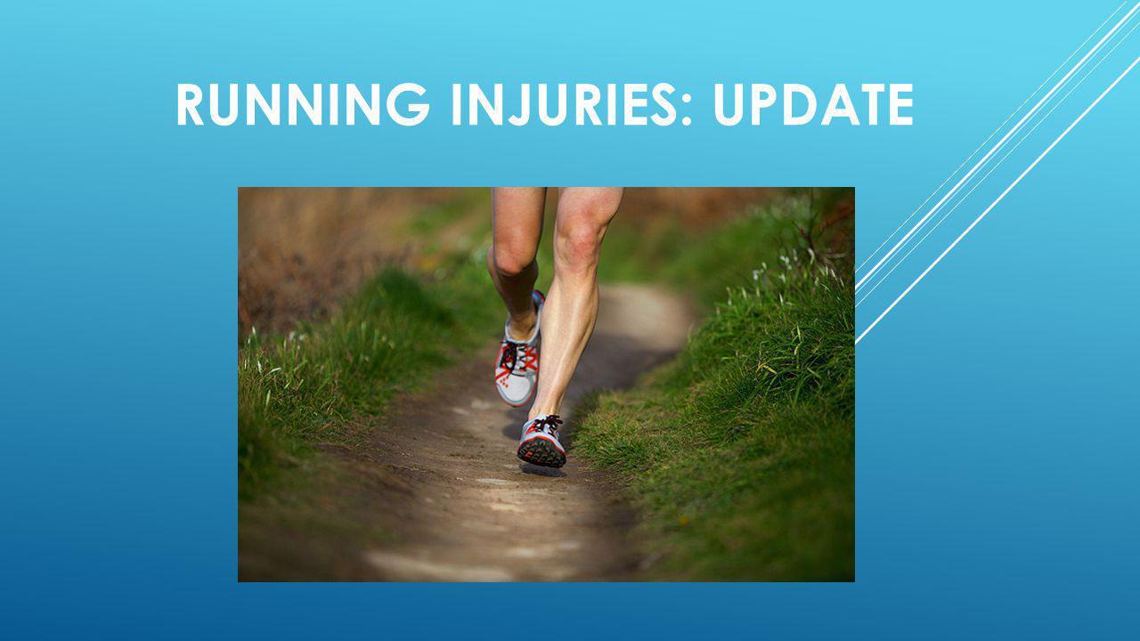 Running injuries: update