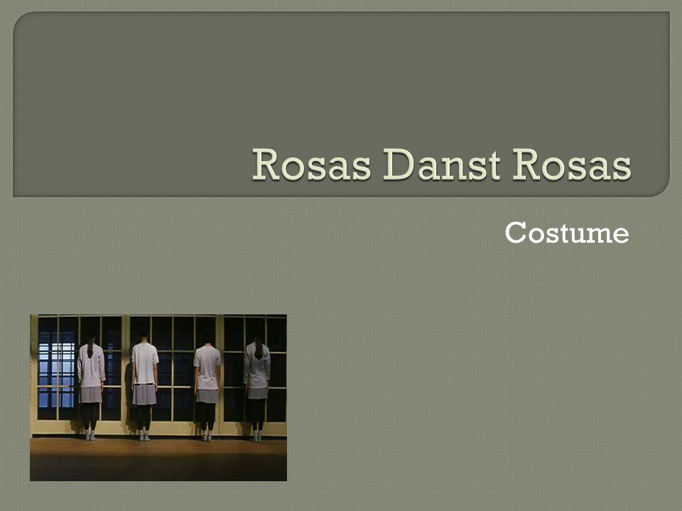 Rosas Danst Rosas Costume