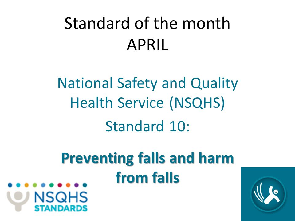 Standard of the month APRIL