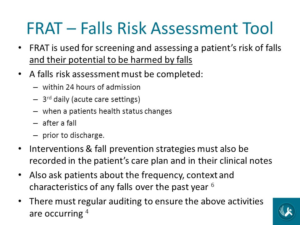 FRAT – Falls Risk Assessment Tool