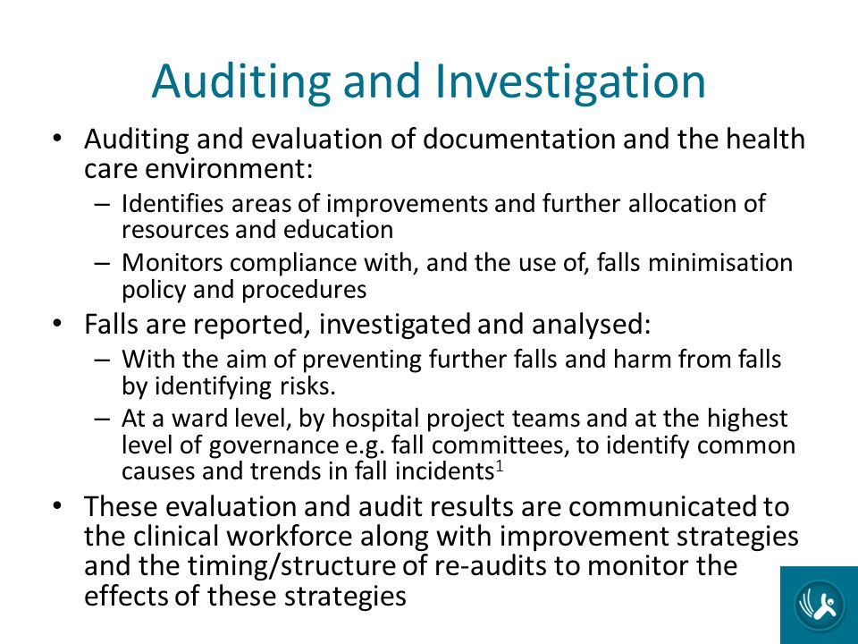 Auditing and Investigation