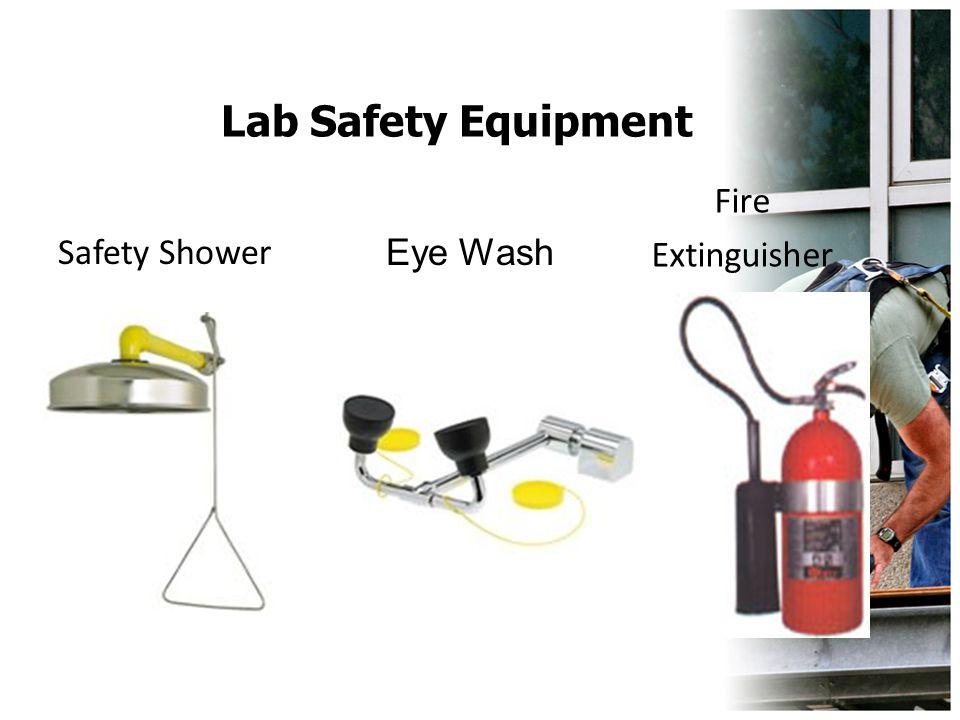 Lab Safety Equipment Fire Extinguisher Safety Shower Eye Wash
