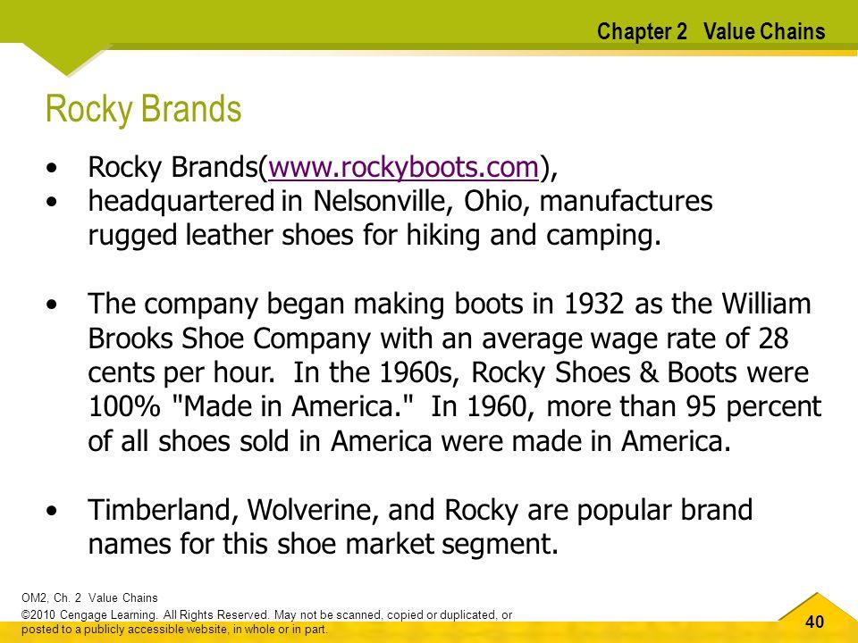 Rocky Brands Rocky Brands(www.rockyboots.com),
