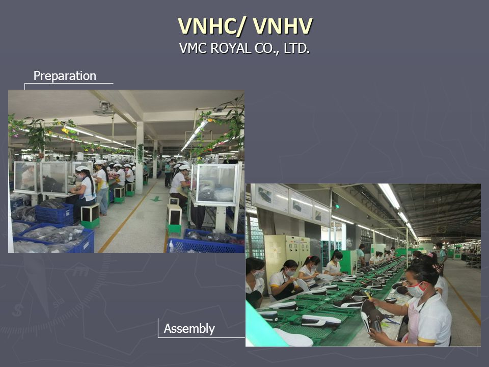 VNHC/ VNHV VMC ROYAL CO., LTD. Preparation Assembly