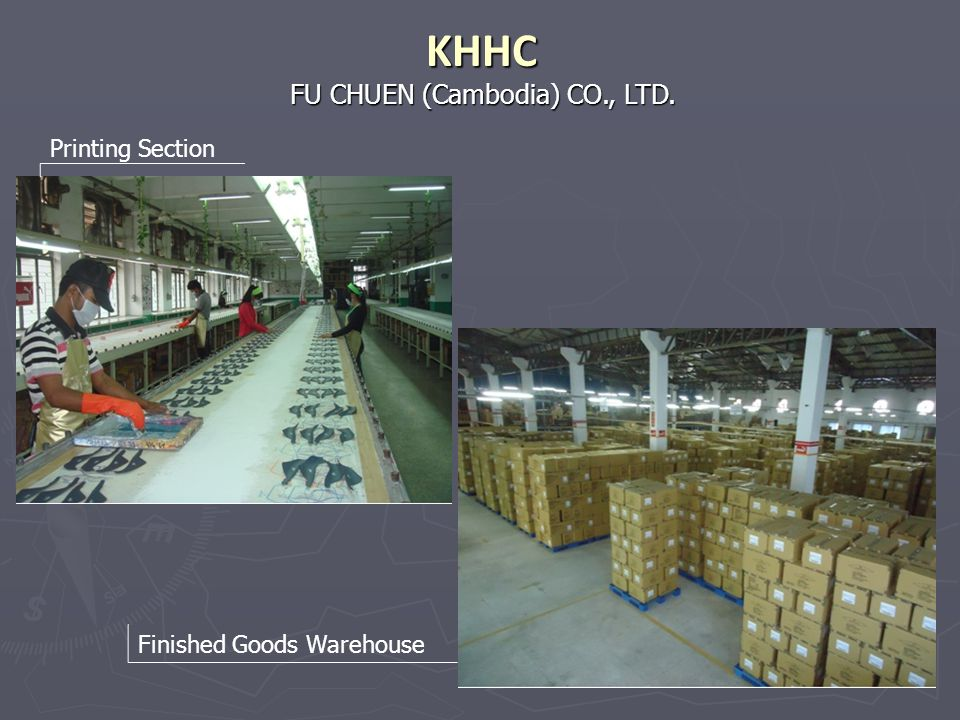 KHHC FU CHUEN (Cambodia) CO., LTD. Printing Section