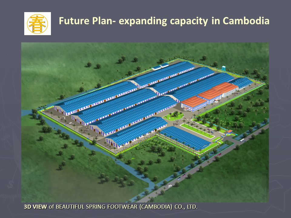 Future Plan- expanding capacity in Cambodia