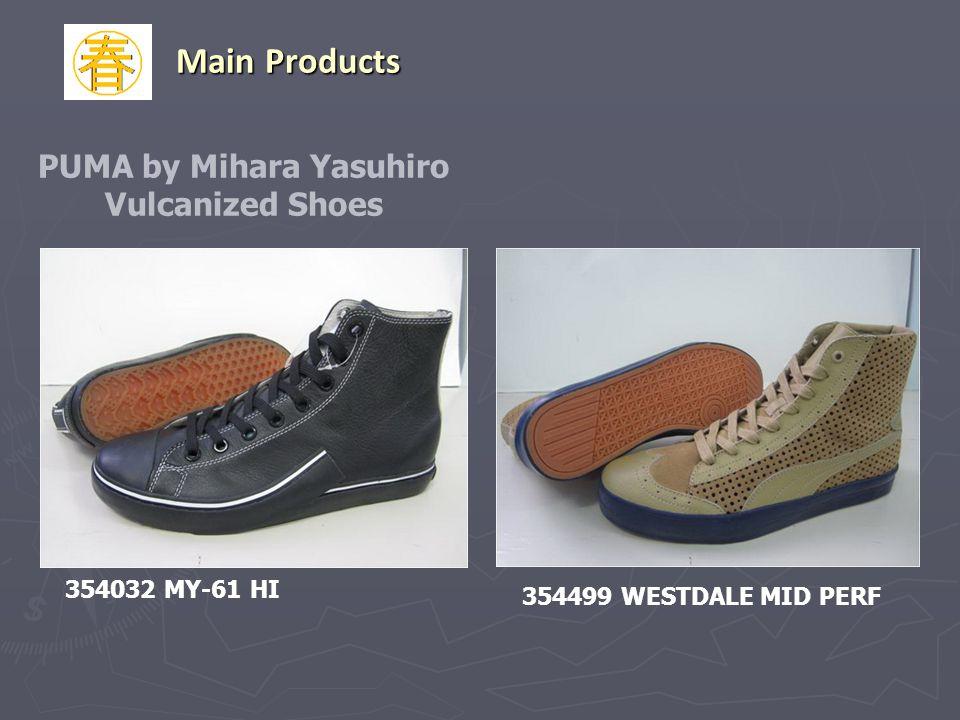 PUMA by Mihara Yasuhiro Vulcanized Shoes