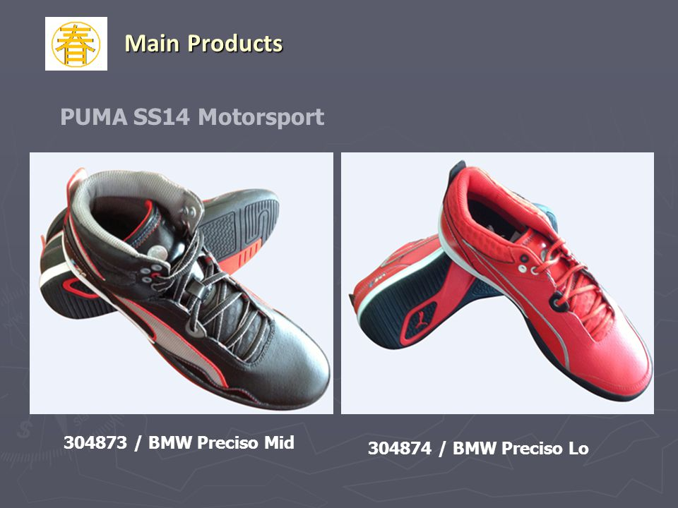 Main Products PUMA SS14 Motorsport 304873 / BMW Preciso Mid