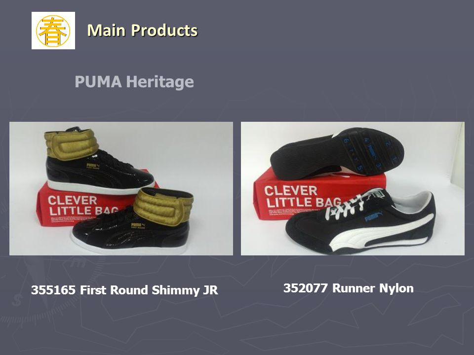 Main Products PUMA Heritage 352077 Runner Nylon