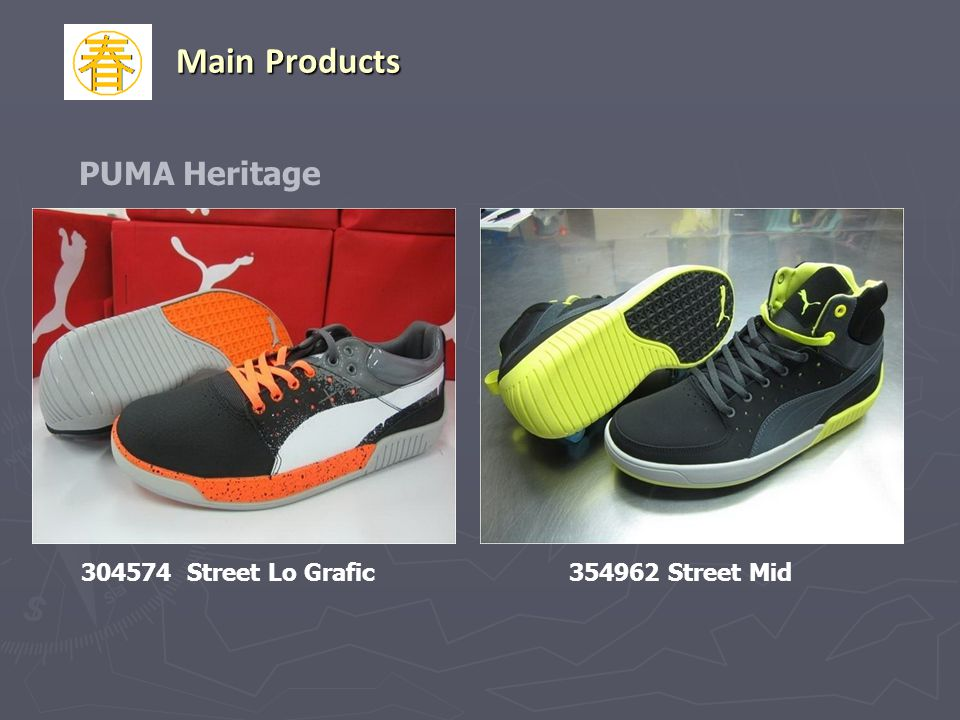 Main Products PUMA Heritage 304574 Street Lo Grafic 354962 Street Mid