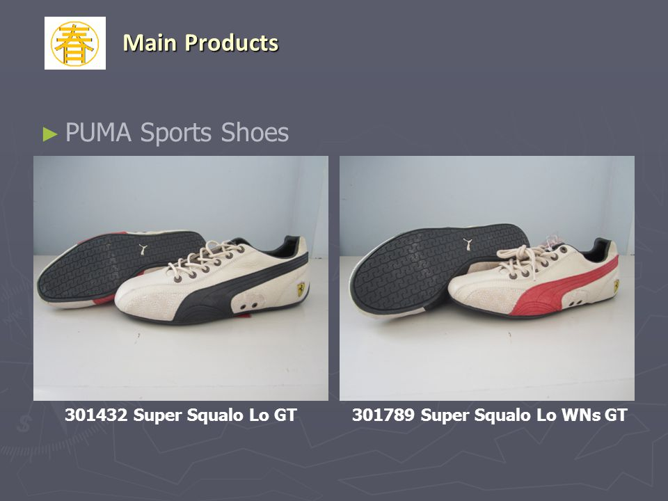 Main Products PUMA Sports Shoes 301432 Super Squalo Lo GT