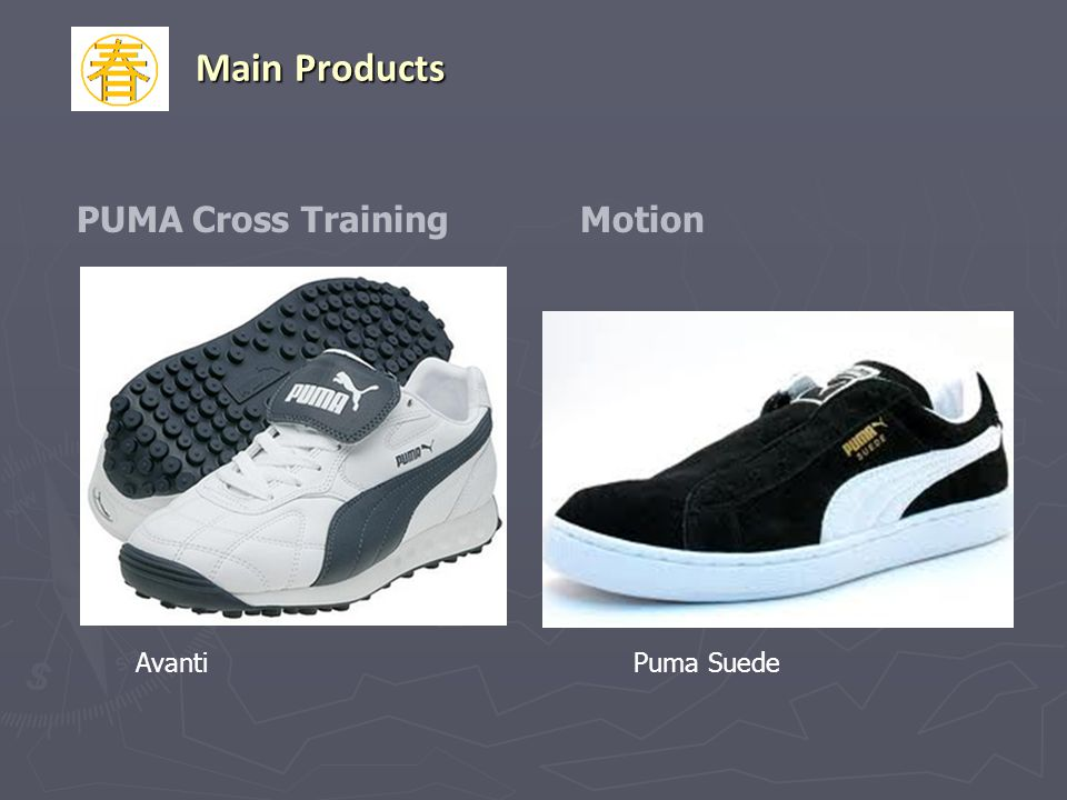 Main Products PUMA Cross Training Motion Avanti Puma Suede