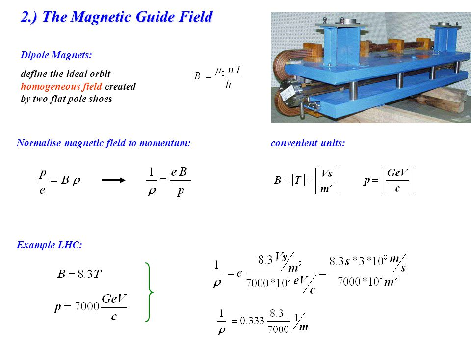 2.) The Magnetic Guide Field