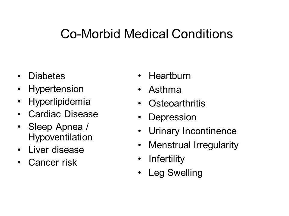 Co-Morbid Medical Conditions
