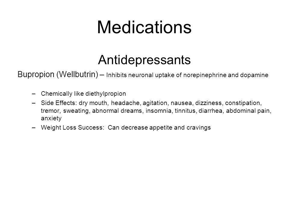 Medications Antidepressants