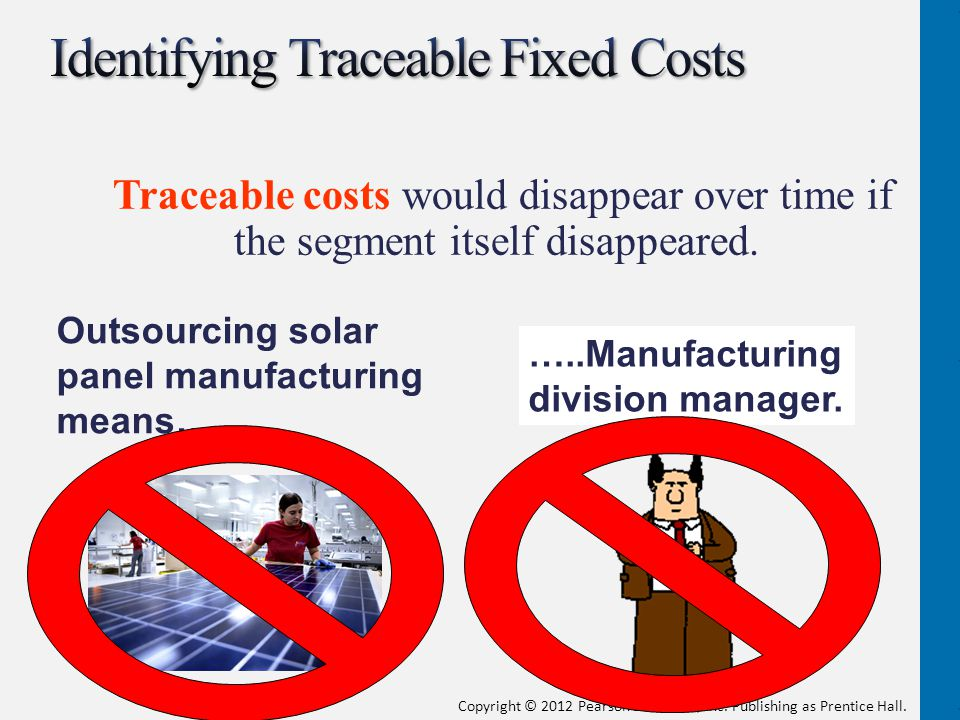 Identifying Traceable Fixed Costs