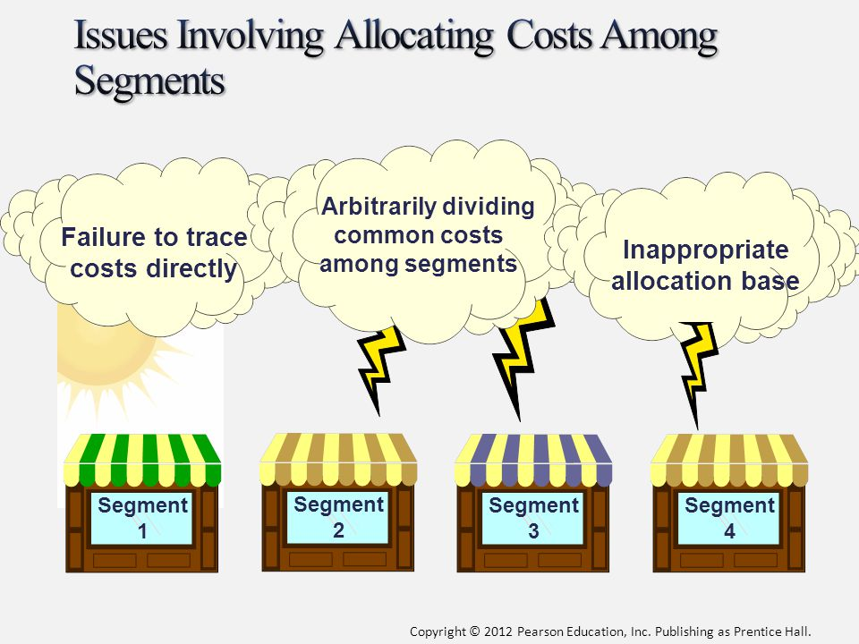 Issues Involving Allocating Costs Among Segments