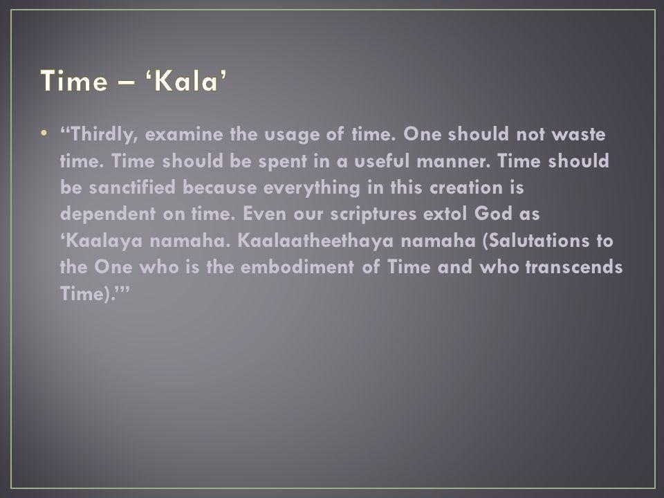 Time – 'Kala'