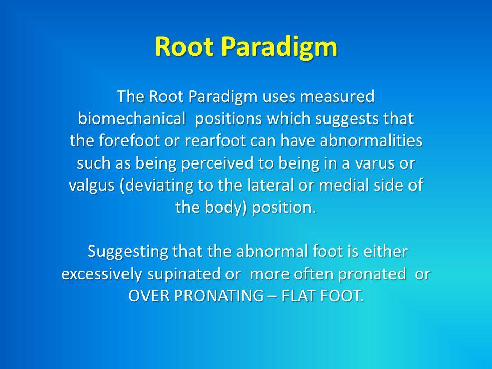 Root Paradigm