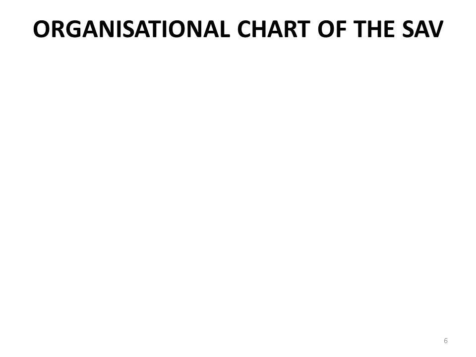 Organisational Chart of the SAV