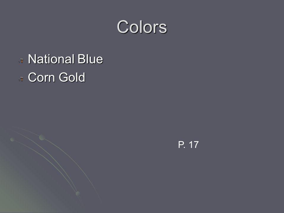 Colors National Blue Corn Gold P. 17