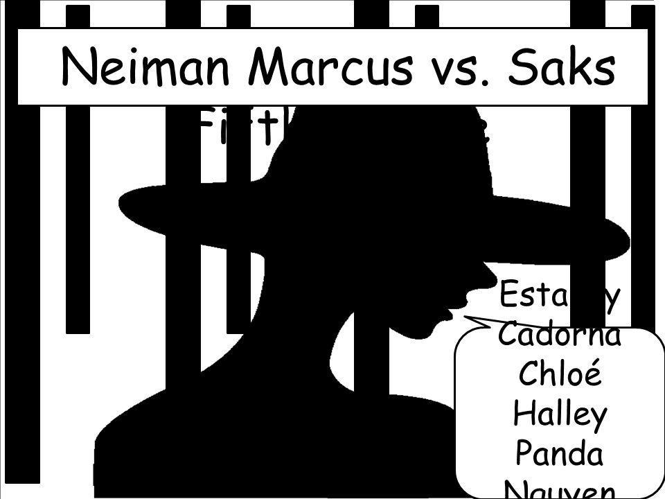 Neiman Marcus vs. Saks Fifth Avenue