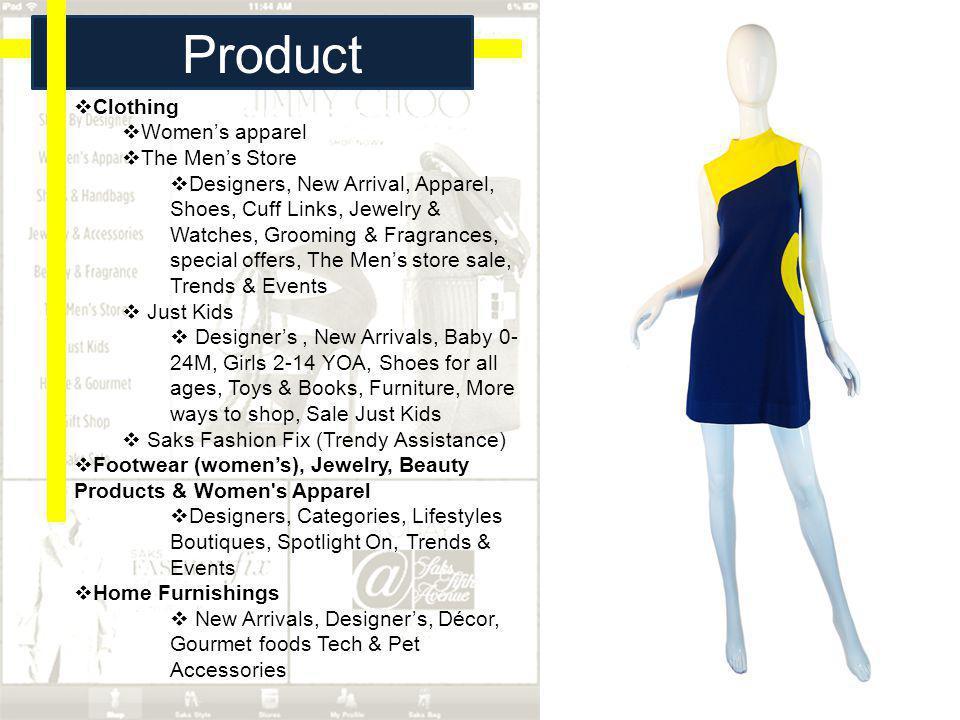 Product Description Clothing Women's apparel The Men's Store