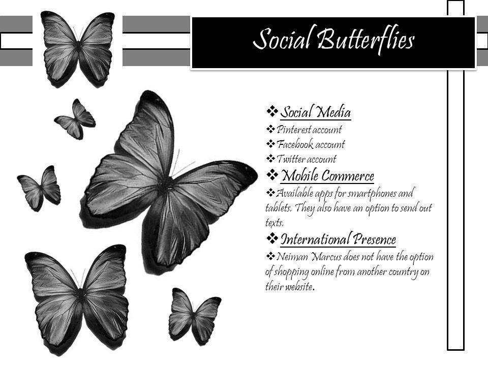 Social Butterflies Social Media Mobile Commerce International Presence