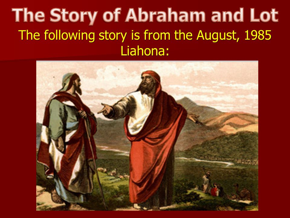The Story of Abraham and Lot