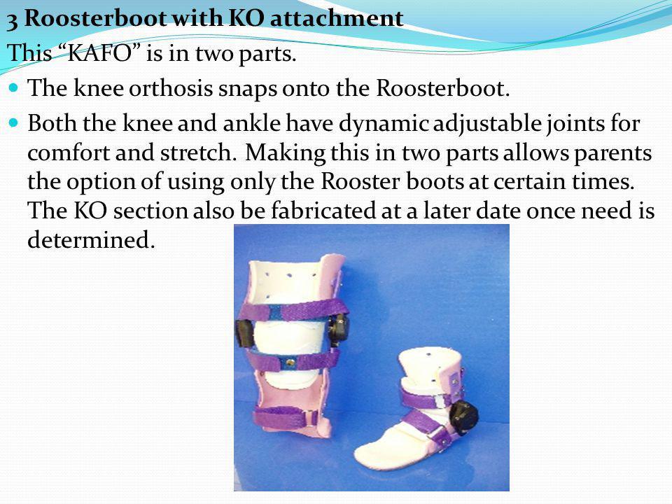 3 Roosterboot with KO attachment