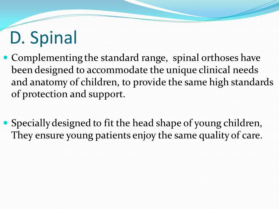 D. Spinal