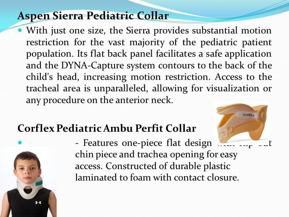 Aspen Sierra Pediatric Collar