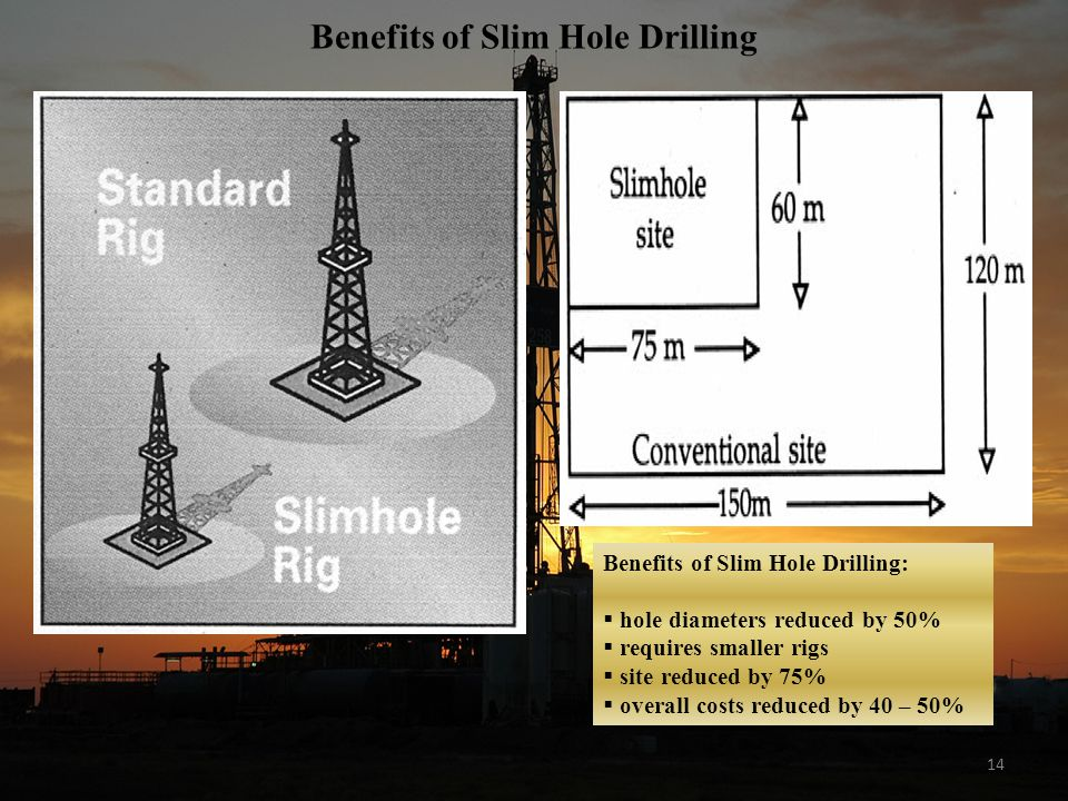 Benefits of Slim Hole Drilling