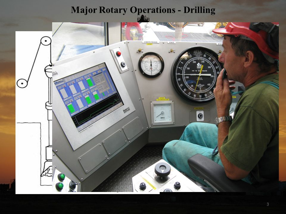 Major Rotary Operations - Drilling