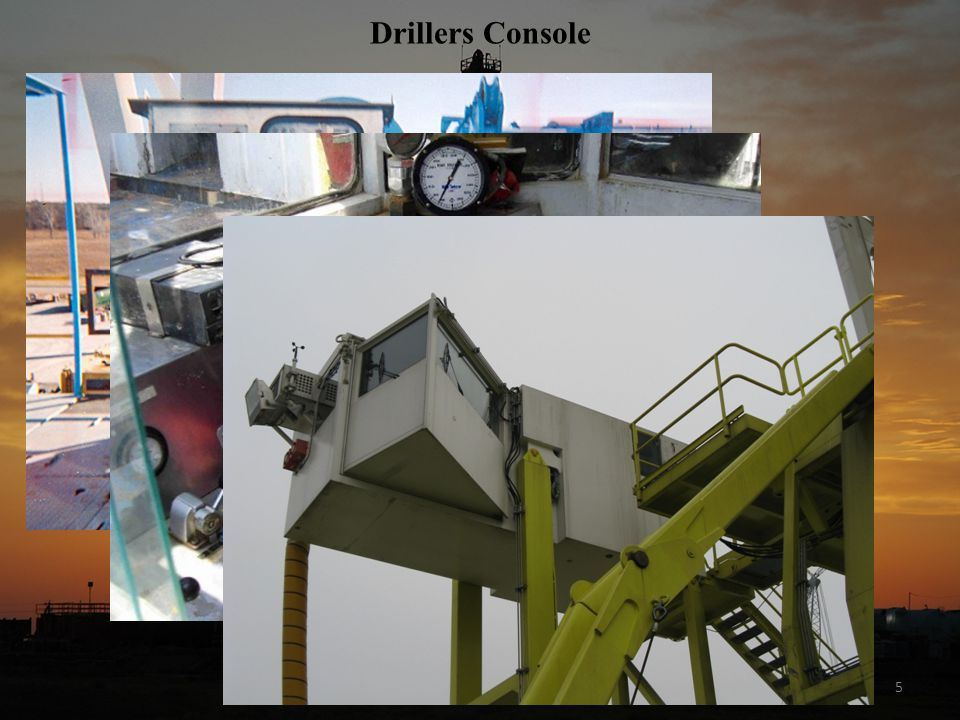 Drillers Console