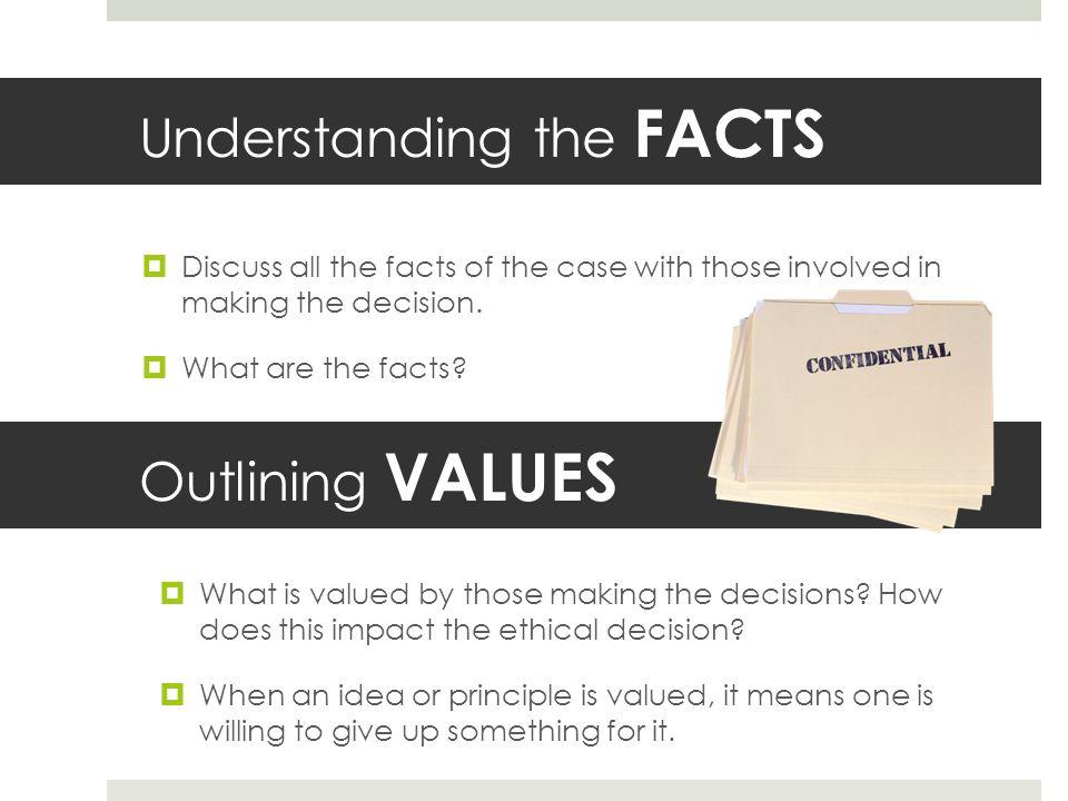 Understanding the FACTS