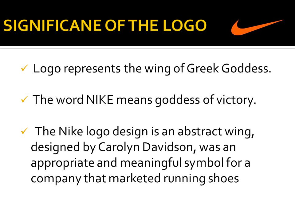 SIGNIFICANE OF THE LOGO