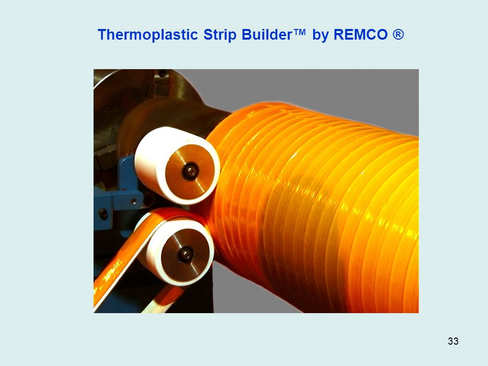 Thermoplastic Strip Builder™ by REMCO ®