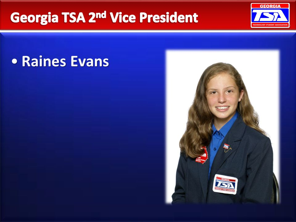 Georgia TSA 2nd Vice President